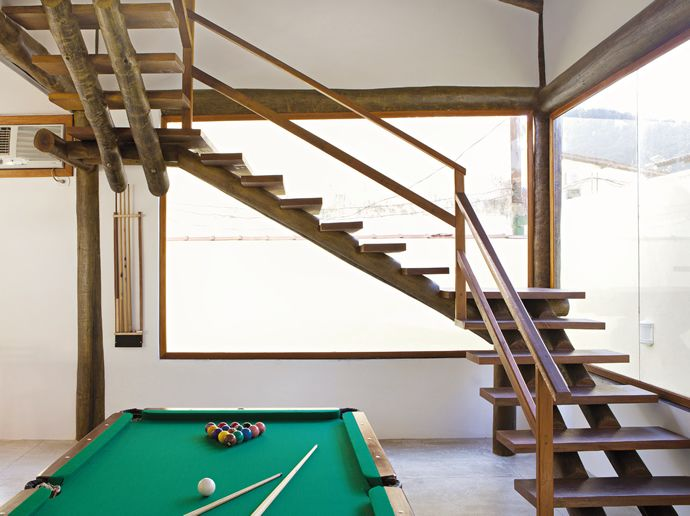 eucalitpo escada tratado tratada tratamento casa sobrado